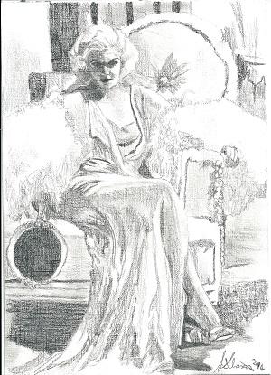 Jean Harlow por Lindasart